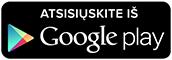 Atsisiųskite iš Google Play